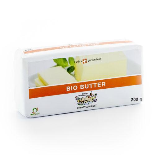 Beurre non pasteurisé bio
