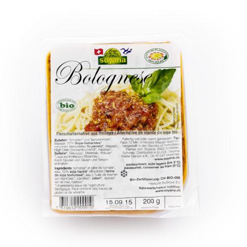 Bolognaise de soja bio