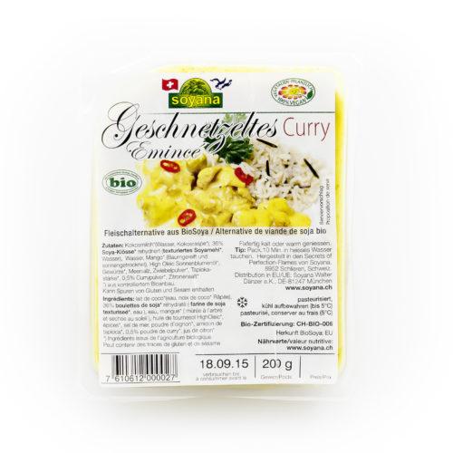 Émincé soja curry bio