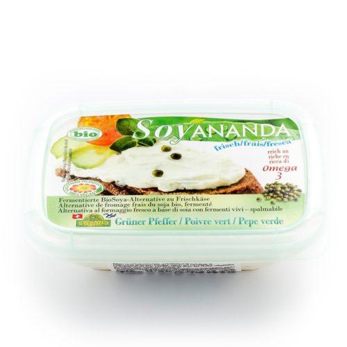 Soyananda poivre vert alternative au fromage frais bio