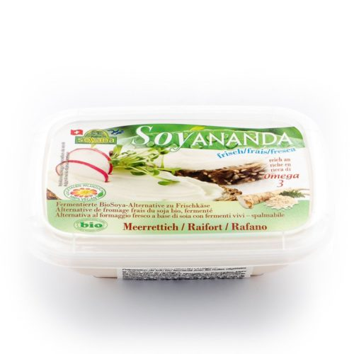 Soyananda raifort alternative au fromage frais bio