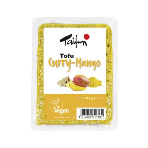 Tofu curry-mangue bio