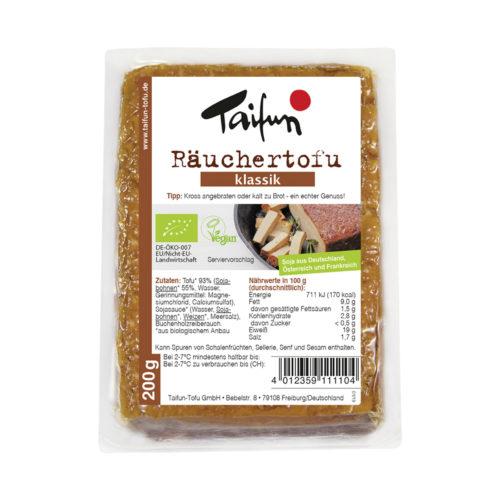 Tofu fumé classique bio
