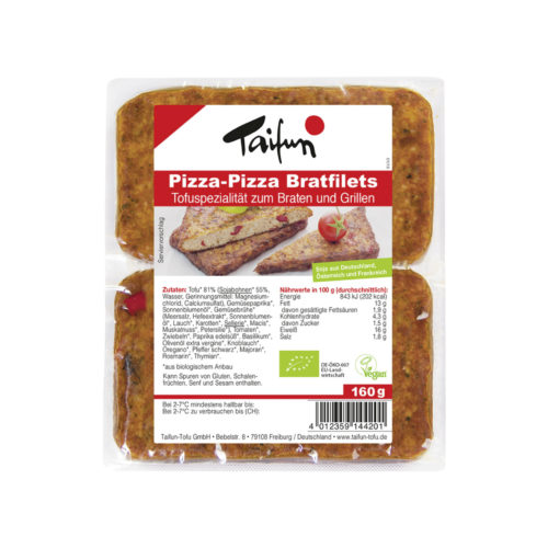 Filets de tofu Pizza-Pizza bio