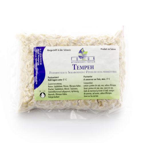 Fèves de soja fermentées Tempeh bio
