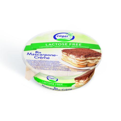 Mascarpone sans lactose bio