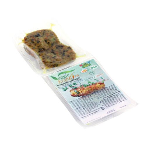 Veggie-KraftKorn burger de légumes quinoa bio