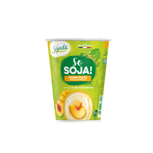 Dessert bio So Soja! Mangue-Pêche