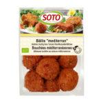 Boulettes méditerranéennes tomate-riz-mozzarella bio