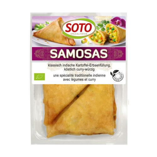 Samossas indiens aux pommes de terre et petits pois