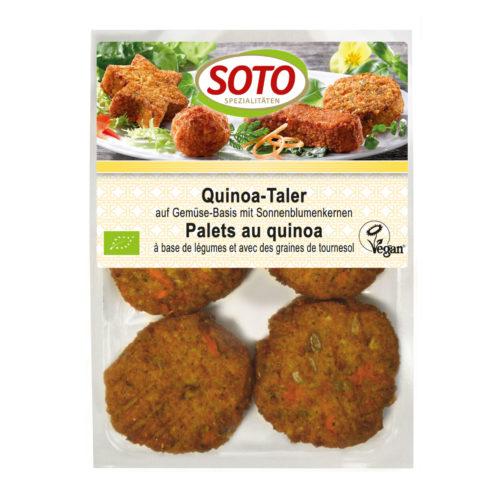 Bouchées de quinoa aux légumes et graines de tournesol bio