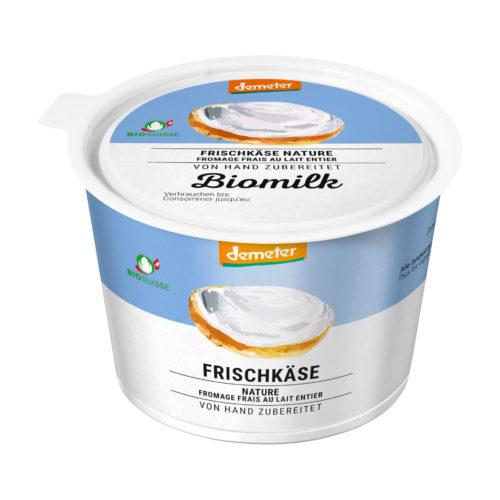 Fromage frais au lait entier bio Demeter