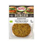 Burger Chou frisé et chanvre bio