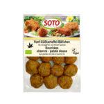 Bouchées chanvre-patate douce aux graines de chia et quinoa fin bio
