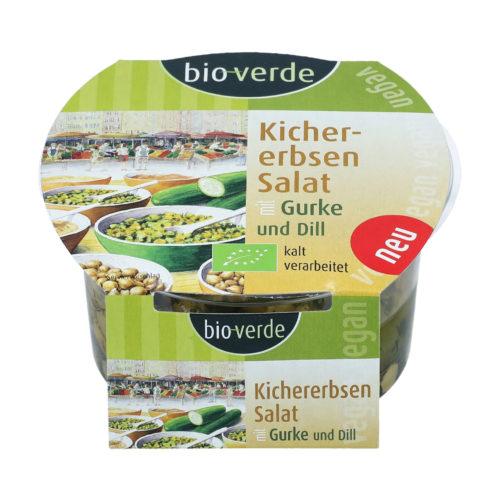 Salade de pois chiches, concombre & aneth bio