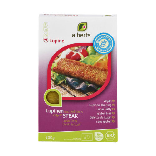 Steak de Lupin sans gluten bio