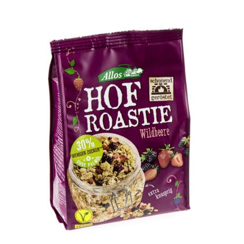 Muesli bio «Hof Roastie» aux baies sauvages
