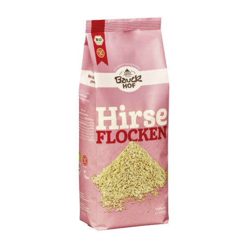 Flocons de millet, sans gluten bio