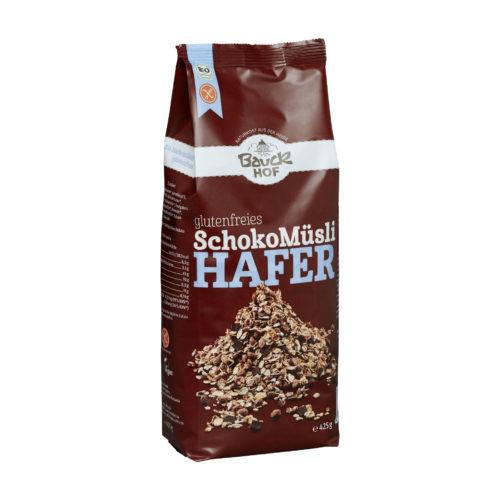 Muesli d'avoine au chocolat, sans gluten