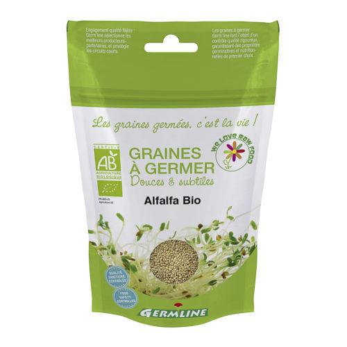 Graines à germer – Alfalfa bio