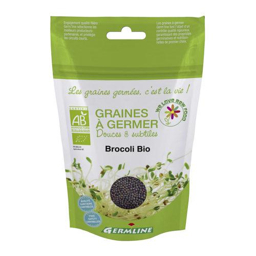 Graines à germer – brocoli bio