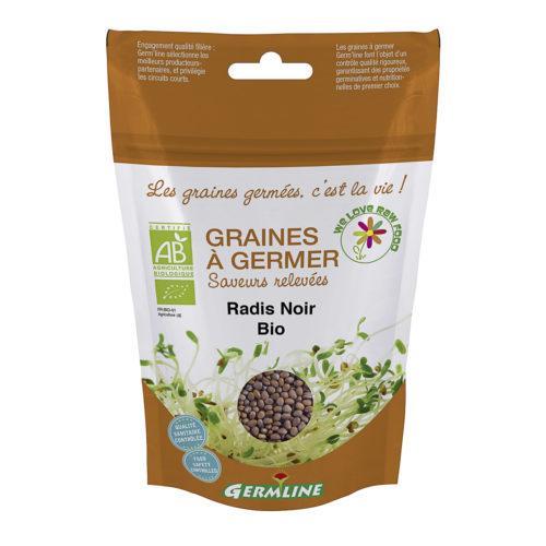 Graines à germer – Radis noir bio