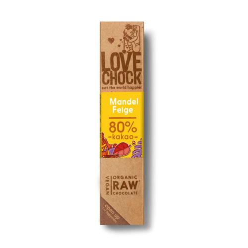 Barre de chocolat cru Amandes & Figue bio