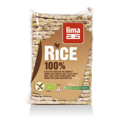 Galettes fines de riz complet bio