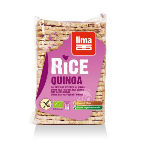 Galettes fines de riz quinoa bio