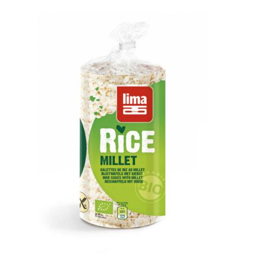 Galettes de riz millet bio