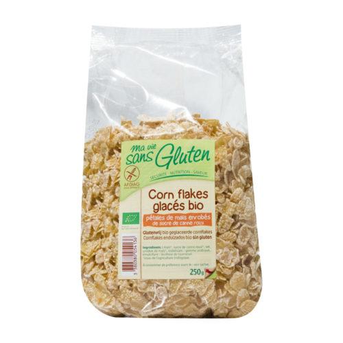 Corn Flakes glacés, sans gluten bio