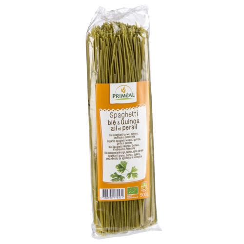 Spaghetti quinoa ail-persil bio