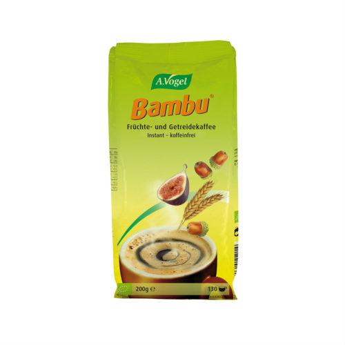 Café bio instantané aux fruits et céréales Bambu
