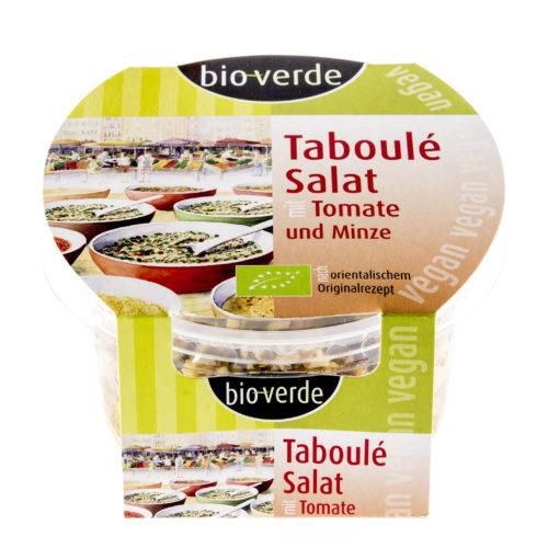 Salade de taboulé aux tomates et à la menthe bio