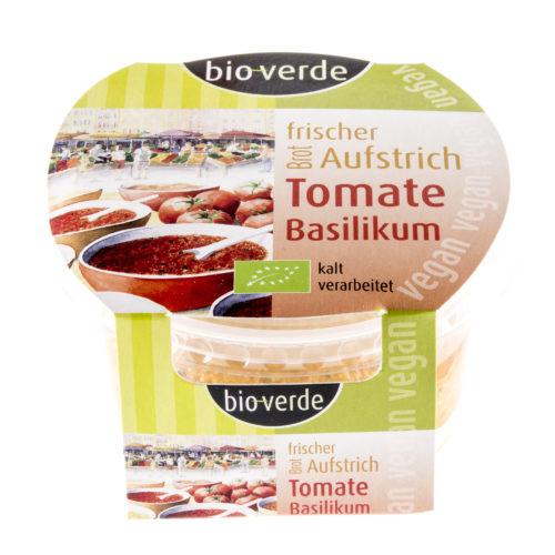 Pâte à tartiner tomate & basilic bio