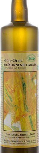 Huile de tournesol high oleic bio