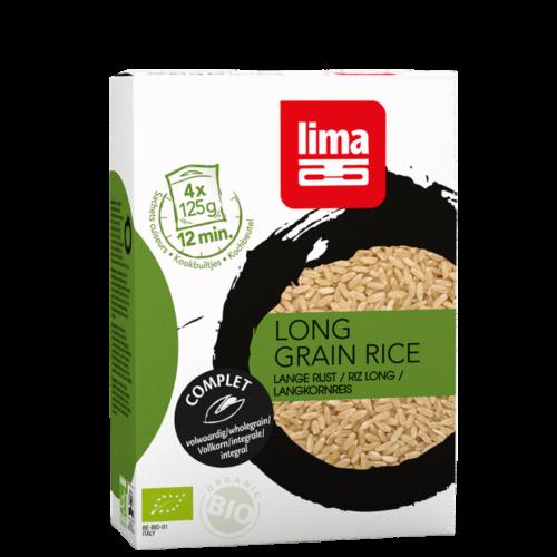 Riz grain long précuit Lima