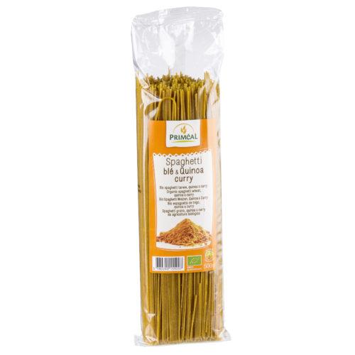 Spaghetti quinoa curry