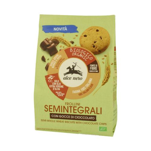 Biscuits semi-complets aux pépites de chocolat bio