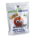 Chips de fruits bio pomme-myrtille
