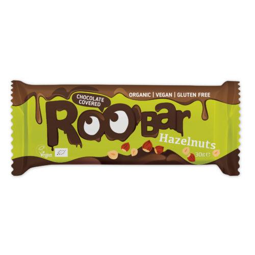 barre de chocolat aux noisettes