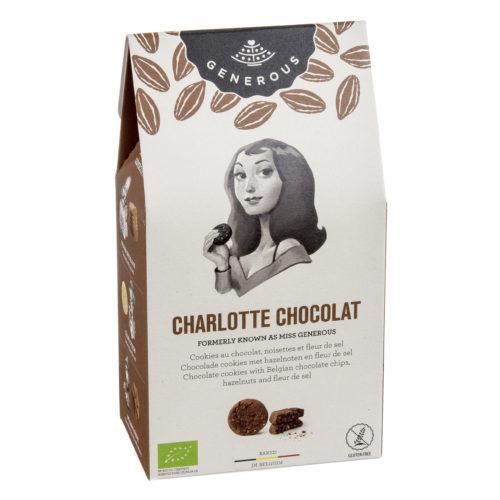 Biscuit de Charlotte au chocolat bio