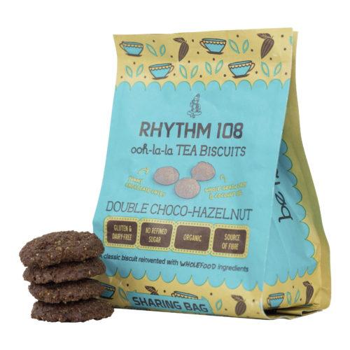 Double Choco-Hazelnut Biscuit bio