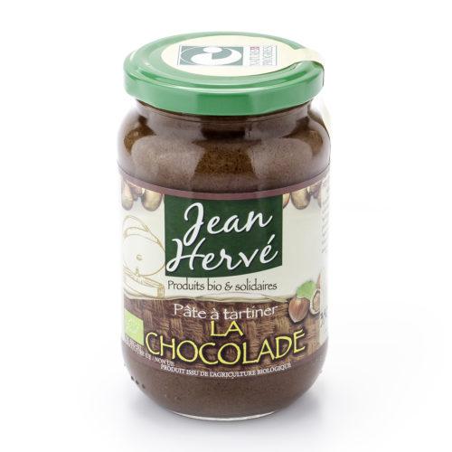 Pâte à tartiner au chocolat sans huile de palme bio