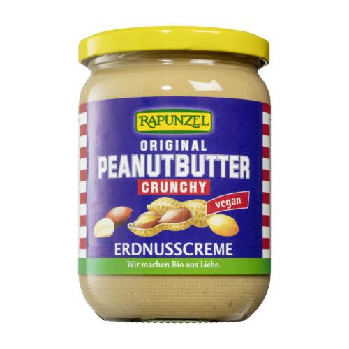 Beurre de cacahuètes croustillant bio