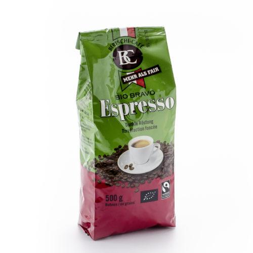 Café Espresso en grains Bio Bravo