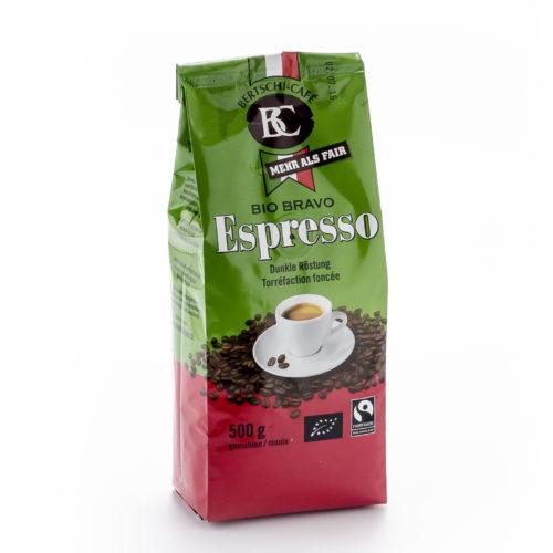 Café Espresso moulu Bio Bravo