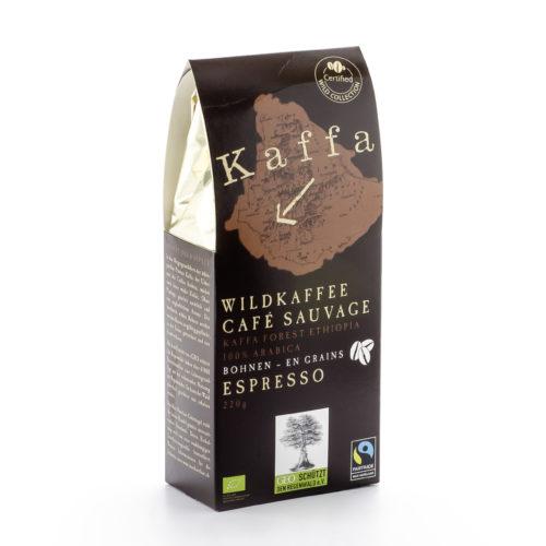 Café Espresso sauvage bio en grains