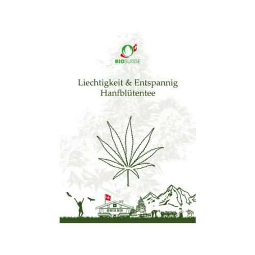 Facilité & Relaxation-Tisane de fleurs de chanvre bio