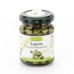 Câpres bio à l'huile d'olive vierge extra